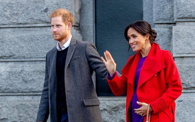 Prints Harry abikaasa Meghaniga