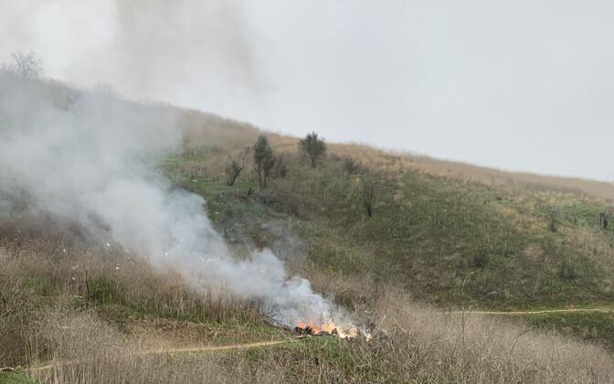 Kobe Bryanti helikopter süttis peale alla kukkumist põlema