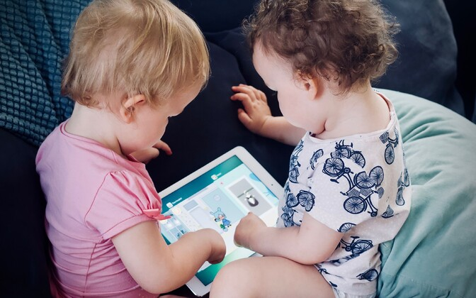Umbes 80 protsendil alla kaheaastastest lastest on digitaalne jalajälg, mille on loonud nende vanemad.
