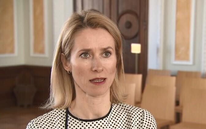 Reform leader Kaja Kallas.
