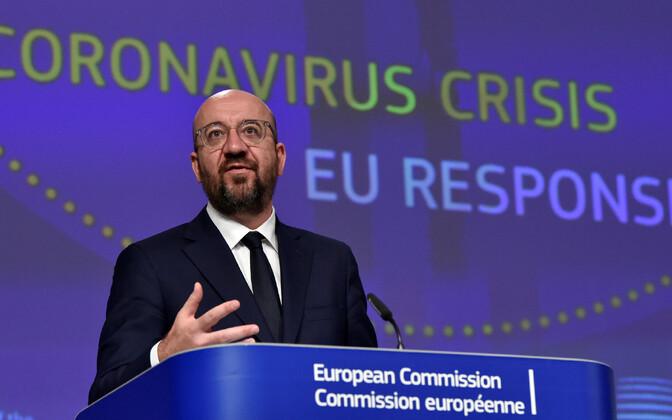 Euroopa Ülemkogu eesistuja Charles Michel.