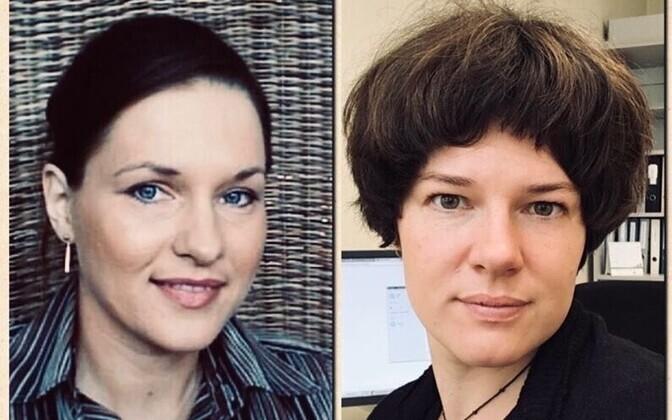 Kadi Künnapuu ja Irja Toots