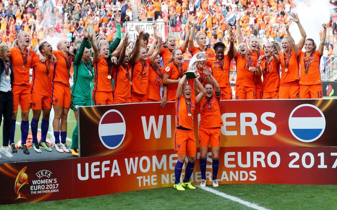 Сборная Нидерландов - действующий чемпион Европы.