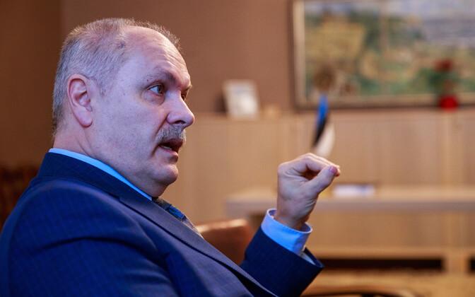 President of the Riigikogu Henn Põlluaas (EKRE)