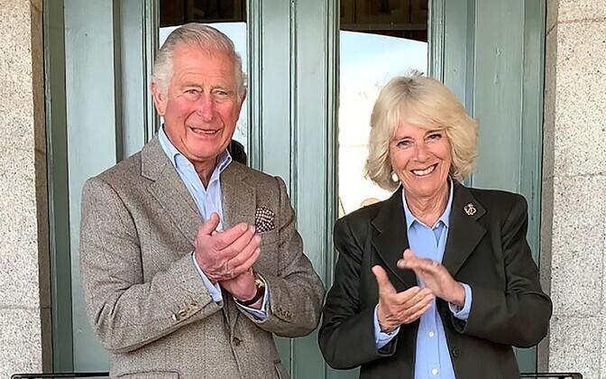 Prints Charles ja hertsoginna Camilla