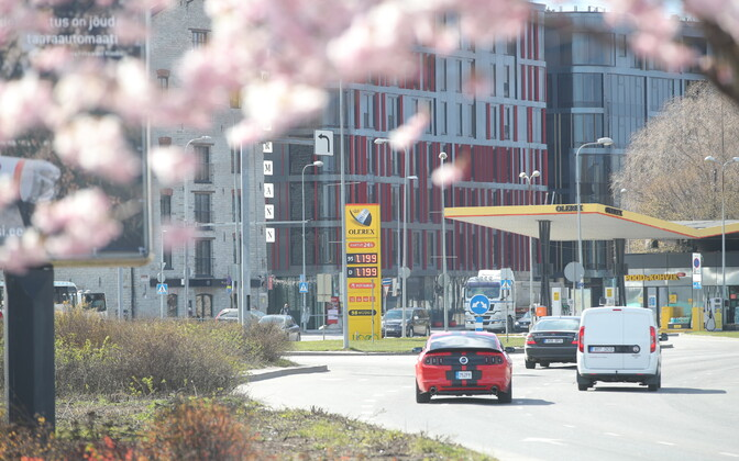 Diesel price in Tallinn on April 24, €1.199 per liter. This should fall from Friday.