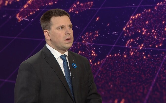 Prime Minister and head of the emergency situation Jüri Ratas (Center).