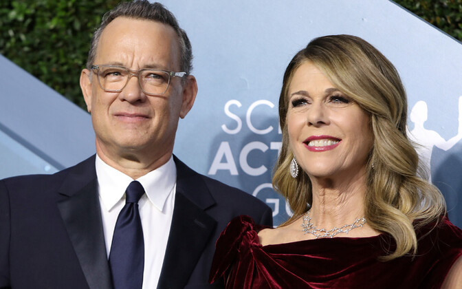 Tom Hanks ja Rita Wilson