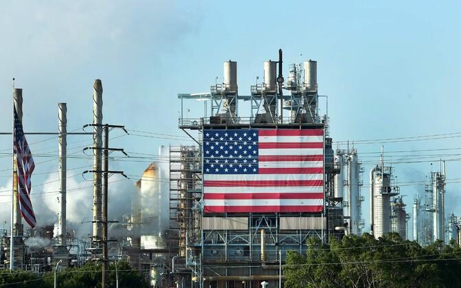 Wilmingtoni naftaväljad USA-s.