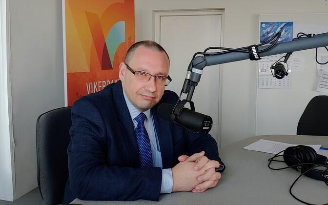 Dr. Arkadi Popov on Monday's edition of