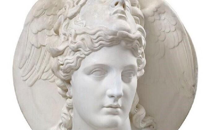 Ludwig Schwanthaler. Medusa maskiga Athena. Koopia. Eesti Kunstimuuseum