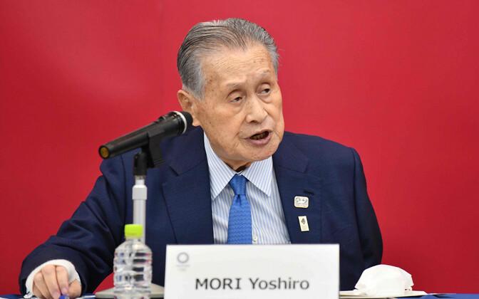 Tokyo olümpiamängude korralduskomitee juht Yoshiro Mori .