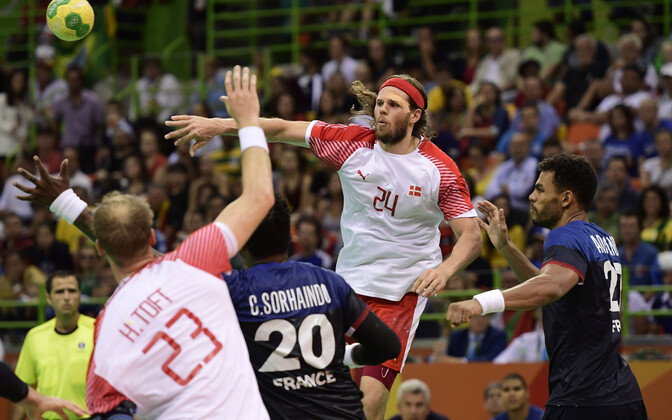 Rio de Janeiro olümpia meeste käsipalli finaal Taani - Prantsusmaa