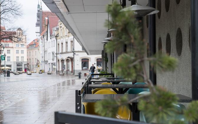 Vanalinna restoranid eriolukorra ajal