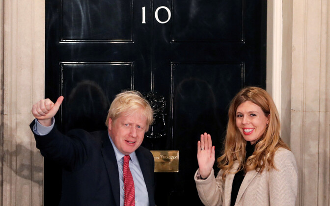 Boris Johnson ja Carrie Symonds