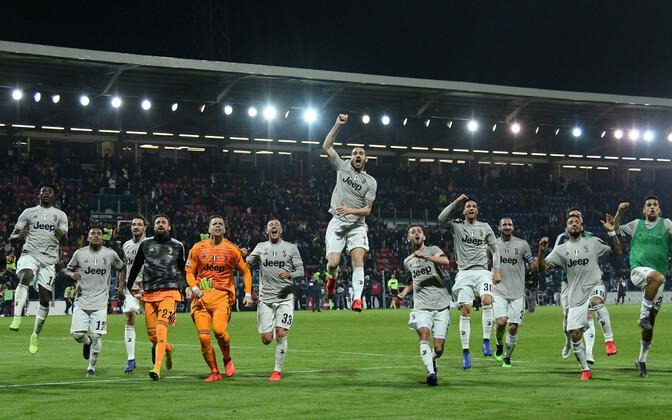 Juventus on hetkel Itaalia kõrgliiga tabeliliider