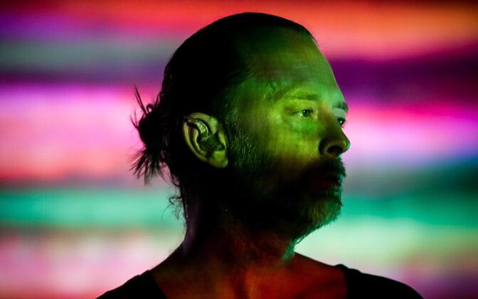 Thom Yorke 2019. aastal muusikafestivalil Alive.
