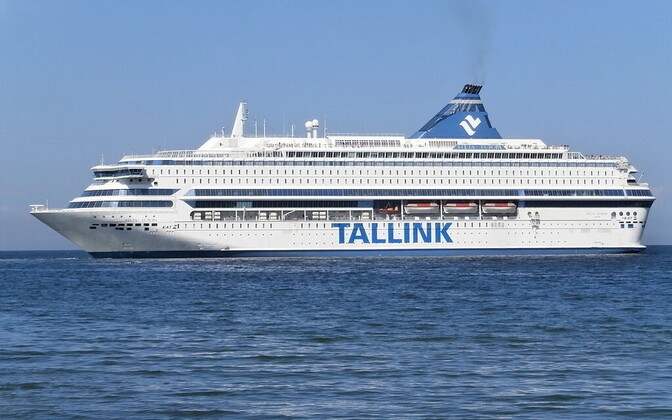 The Silja Europa, one of the Tallink vessels taking part in Friday's event.