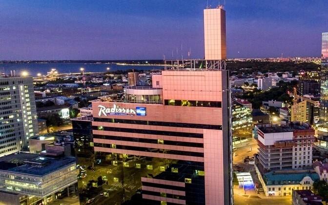 Radisson Blu Sky Hotel.