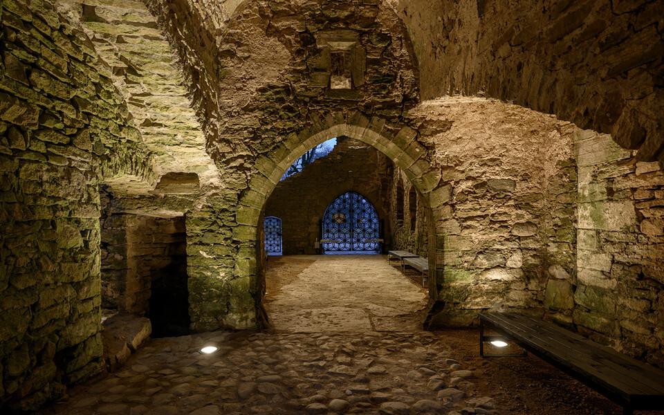 Renoveeritud Padise klooster.