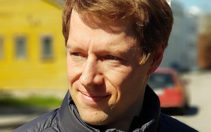 New Saaremaa rural municipality mayor Mikk Tuisk (SDE).