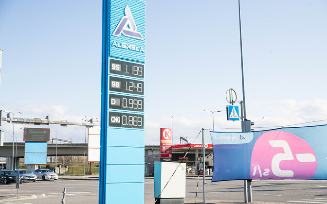 The price of diesel on April 30