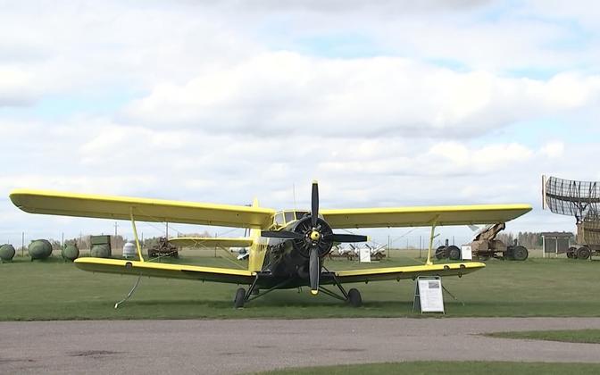 An exhibit at the Estonian Aviation Museum near Tartu.