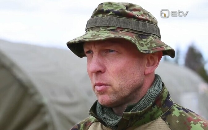 Col. Tarmo Metsa, head of the field training phase of the Kevadtorm (Spring Storm) military exercise of the Estonian defense forces