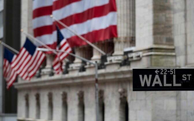 USA lipud New Yorgi börsi ees.