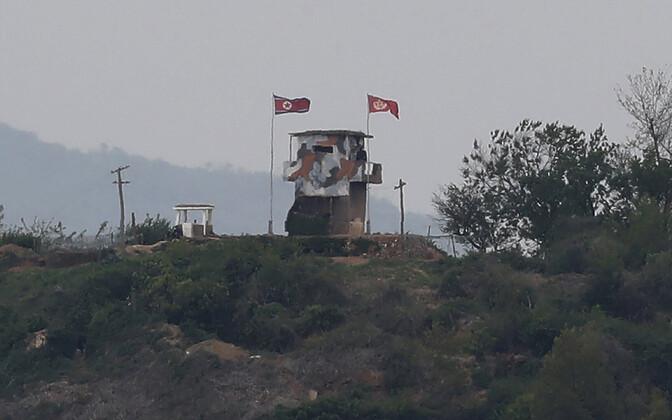 Põhja-Korea piiripunkt Pajus.
