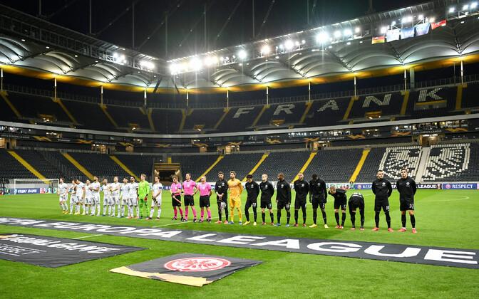 Meistrite liiga kohtumine Frankfurdi Eintracht - Basel