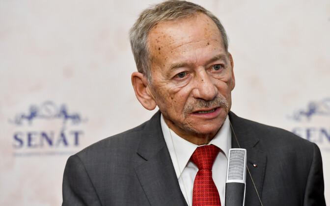 Tšehhi senati endine juht Jaroslav Kubera.