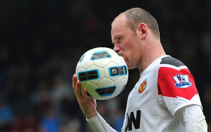 Manchester Unitedi ründaja Wayne Rooney