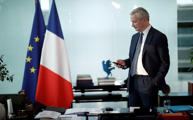 Prantsuse rahandusminister Bruno Le Maire