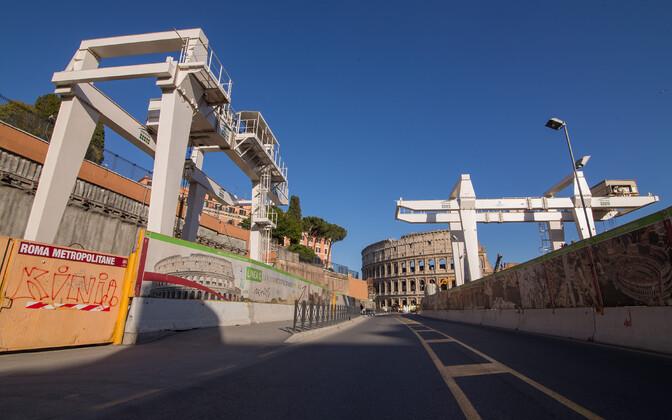 Стройплощадки в Риме.