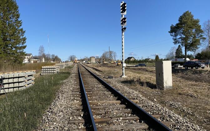 Raudtee Türi-Lelle vahel