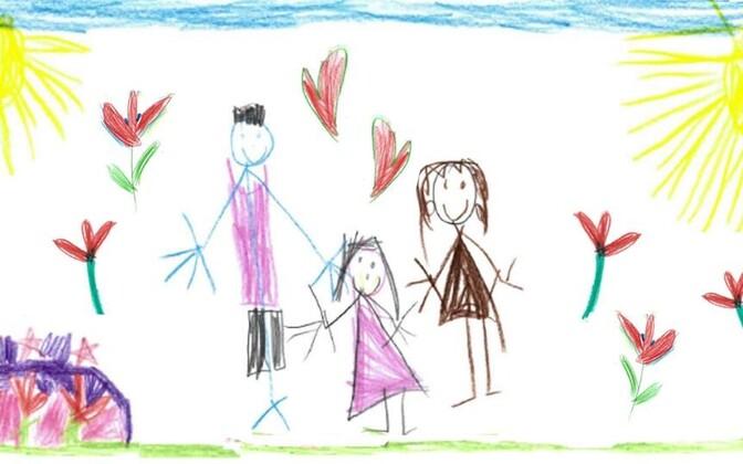 Seoses oma päritolu perekonnaga, on laste mälestused pigem positiivsed ning sageli nad püüavad õigustada oma vanemate tegevusi.