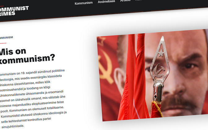 The online portal Communist Crimes is available in Estonian, English and Russian.
