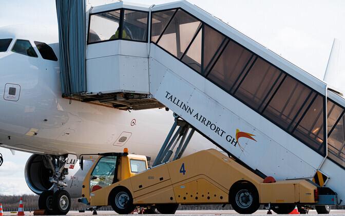 В апреле Таллиннский аэропорт принял 14 грузовых самолетов.