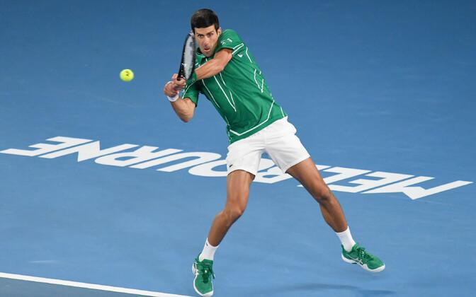 Novak Djokovic tänavustel Austraalia lahtistel