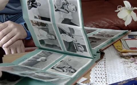 Alari pildialbum lapsepõlvest.
