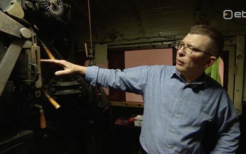 Geeniteadlase Anton Terasmaa hobi on vanade auruvedurite remontimine