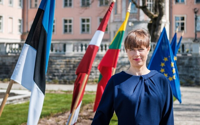 President Kersti Kaljulaid joined her Latvian and Lithuanian opposite numbers in issuing the joint statement.