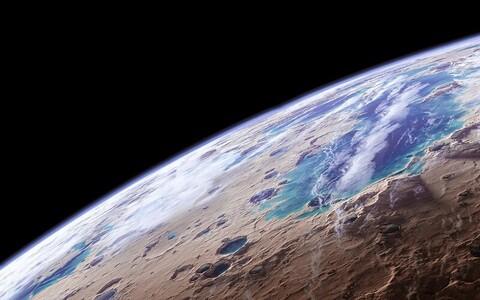 Marsil võisid laiuda minevikus suured veekogud.