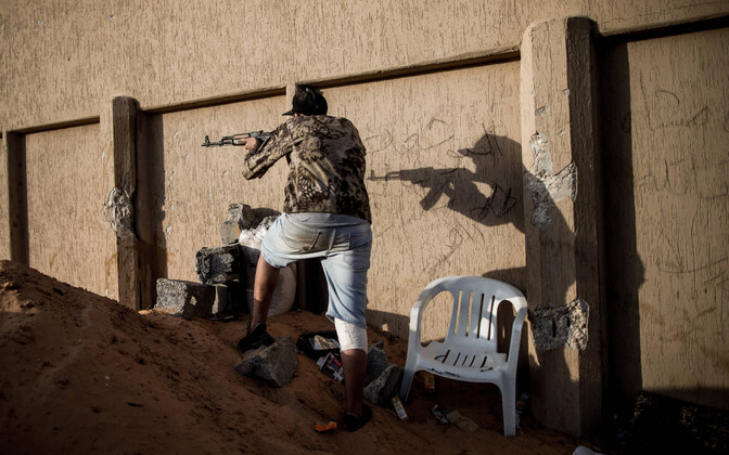 Liibüa võitleja. Arusaadavatel põhjustel Vene palgasõduritest rahvusvahelistes fotopankades pilte ei ole.