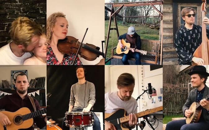 Ewert And The Two Dragons, Curly Strings,Simona, Roosi, Linda ja Ronja