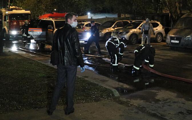 Пожар в московской больнице унес жизнь пациента.