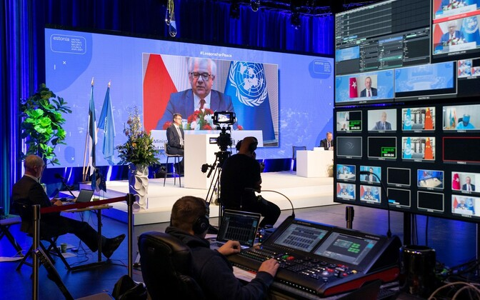 Estonia-convened virtual meeting of nearly 80 countries.