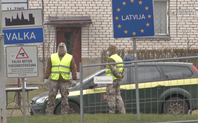 Коронавирус в Латвии.
