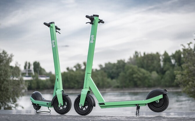 Bolt electric scooters.